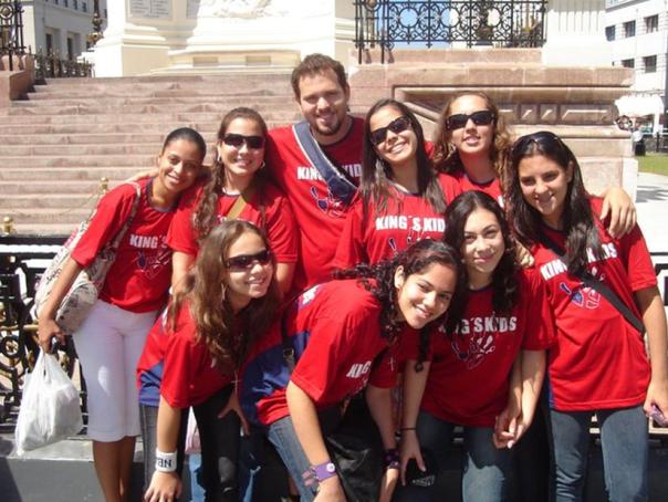 """"""" Base da Jocum Campo Grande"""" (Chile, 2009)."""