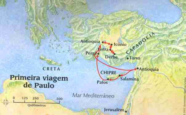 Primeira Viagem de Paulo